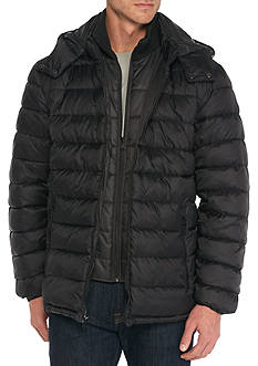 Perry Ellis Nylon Puffer Jacket