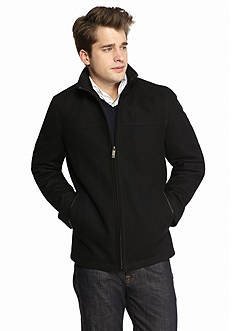 Perry Ellis Portfolio Wool Open Bottom Jacket