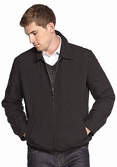 Perry Ellis Big & Tall Microfiber Golf Jacket