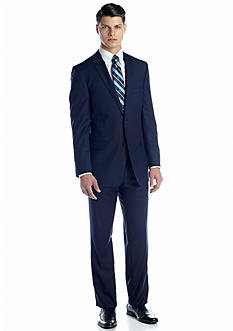 DKNY Classic Fit Navy Suit