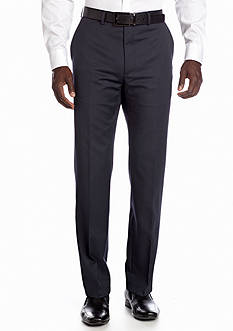 DKNY Slim Fit Navy Mini Stripe Suit Separate Pants