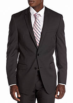 DKNY Slim Fit Black Neat Suit Separate Jacket