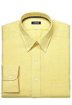 Izod Gingham Dress Shirt