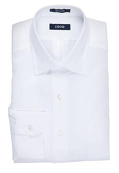 Izod Wrinkle Free Twill Dress Shirt