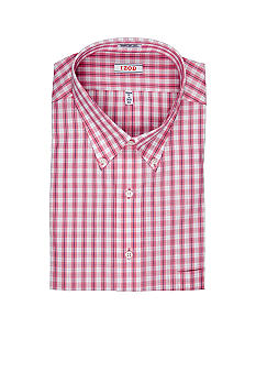Izod Big & Tall Wrinkle Free Plaid Shirt