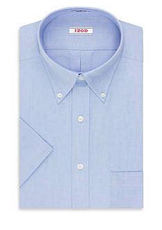 IZOD Wrinkle Free Short Sleeve Dress Shirt