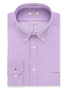 IZOD PerformX Regular-Fit Wrinkle Free Non-Iron Dress Shirt