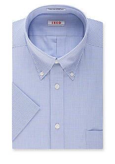 IZOD Wrinkle-Free Short Sleeve Dress Shirt