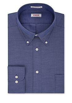 IZOD Big & Tall Twill Wrinkle Free Dress Shirt