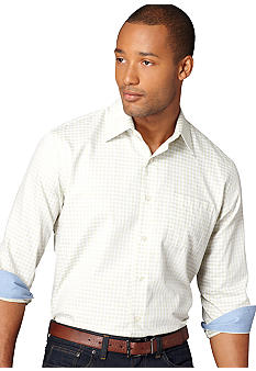 Van Heusen No-Iron Check Woven Shirt