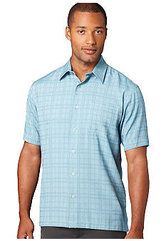 Van Heusen Woven Camp Button Front Shirt