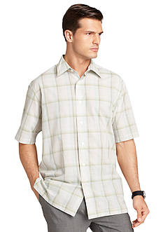 Van Heusen Country Club Check Woven Shirt