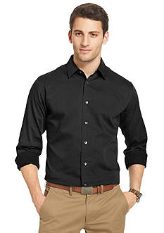 Van Heusen Long Sleeve Satin Stripe