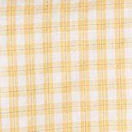 St Patricks Day Outfits For Men: Yellow Sahara Sun Van Heusen Short Sleeve Non-Iron Plaid Woven Shirt