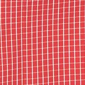 St Patricks Day Outfits For Men: Red Rhubarb Van Heusen Short Sleeve Non-Iron Check Woven Shirt