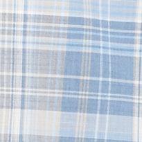 St Patricks Day Outfits For Men: Blue Ribbon Van Heusen Short Sleeve Multi Plaid Woven Shirt