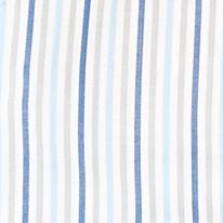 St Patricks Day Outfits For Men: Blue True Blue Van Heusen Long Sleeve Stripe Dobby Woven Shirt