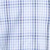 Van Heusen Men Sale: Blu Vista Van Heusen Plaid Traveler Short Sleeve Woven Shirt