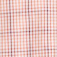 Van Heusen Men Sale: Orange Cajun Van Heusen Plaid Traveler Short Sleeve Woven Shirt