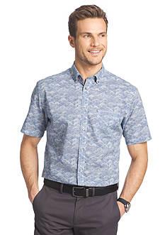 Van Heusen Short Sleeve Woven Shirt
