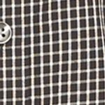 Van Heusen: Black Van Heusen Non-Iron Medium Check Traveler Stretch Shirt
