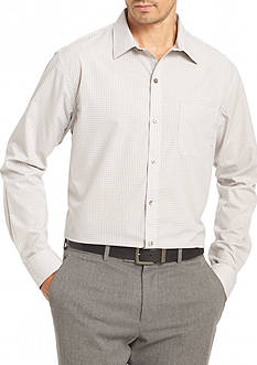 Van Heusen Non-Iron Medium Check Traveler Stretch Shirt