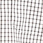 Van Heusen: White Bright Van Heusen Non-Iron Medium Check Traveler Stretch Shirt