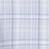 Van Heusen Men Sale: Blue Vista Van Heusen Short Sleeve Medium Plaid Cool Shirt