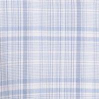 Men: Van Heusen Casual Shirts: Blue Vista Van Heusen Short Sleeve Medium Plaid Cool Shirt
