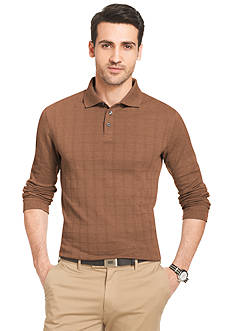 Mens Brown Polo Shirt Belk Everyday Free Shipping
