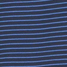 Patterned Polo Shirts Men: Blue Black Iris Van Heusen Stripe Traveler Polo Shirt