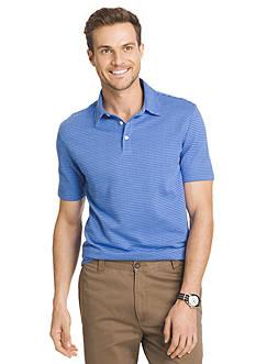 Van Heusen Plaid Traveler Polo Shirt