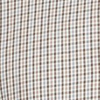 Van Heusen Big & Tall Sale: Gray Gargoyle Van Heusen Big & Tall Long Sleeve Premium No Iron Gingham Button Down Shirt