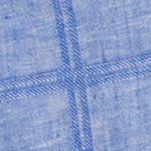 Van Heusen Big & Tall Sale: Blue Crisp Van Heusen Big & Tall Short Sleeve Windowpane Print Woven Shirt