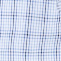 Van Heusen Big & Tall Sale: Blue Vista Van Heusen Big & Tall Short Sleeve Check Traveler Camp Woven Shirt