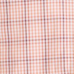 Van Heusen Big & Tall Sale: Orange Cajun Van Heusen Big & Tall Short Sleeve Check Traveler Camp Woven Shirt