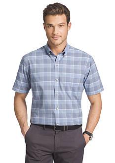Van Heusen Big & Tall Luxe Touch Woven Shirt