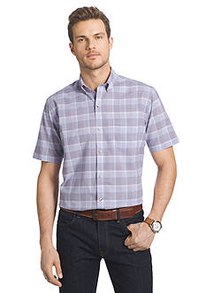 Van Heusen Big & Tall Luxe Touch Woven Shirt