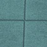 Big and Tall Golf Shirts: Turquoise Van Heusen Big & Tall Short Sleeve Jacquard Windowpane Knit Polo Shirt