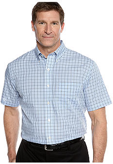 Van Heusen Big & Tall Non-Iron Woven Check Shirt