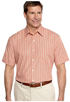 Van Heusen Big & Tall Non-Iron Woven Stripe Shirt