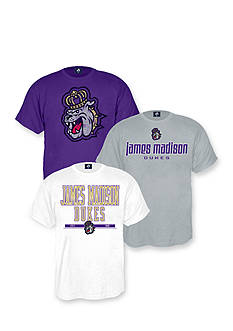 J. America James Madison Dukes Triple Tee Pack