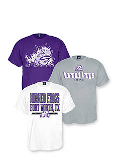 J. America Texas Christian University Horned Frogs Triple Tee Pack
