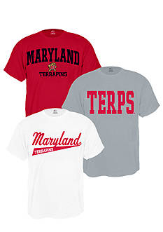 J. America Maryland Terrapins Triple Tee Pack
