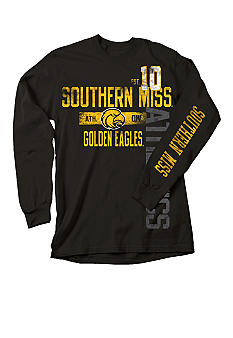 J. America Southern Miss Golden Eagles Tee