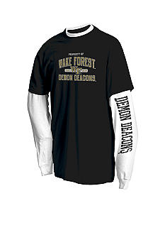 J. America Wake Forest Demon Deacons 2Pk Tees