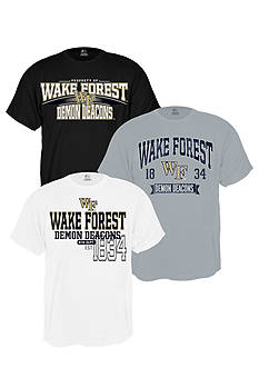 J. America Wake Forest Demon Deacons Triple Tee Pack