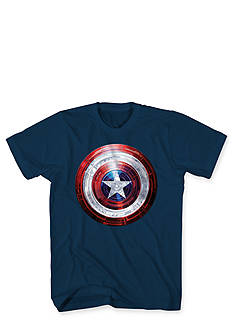 Mad Engine Captain America Covered Light Tee