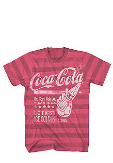 Mad Engine Vintage Coke Stripe Tee