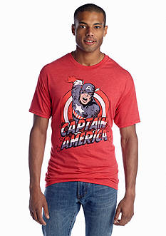 Mad Engine Captain America Tee
